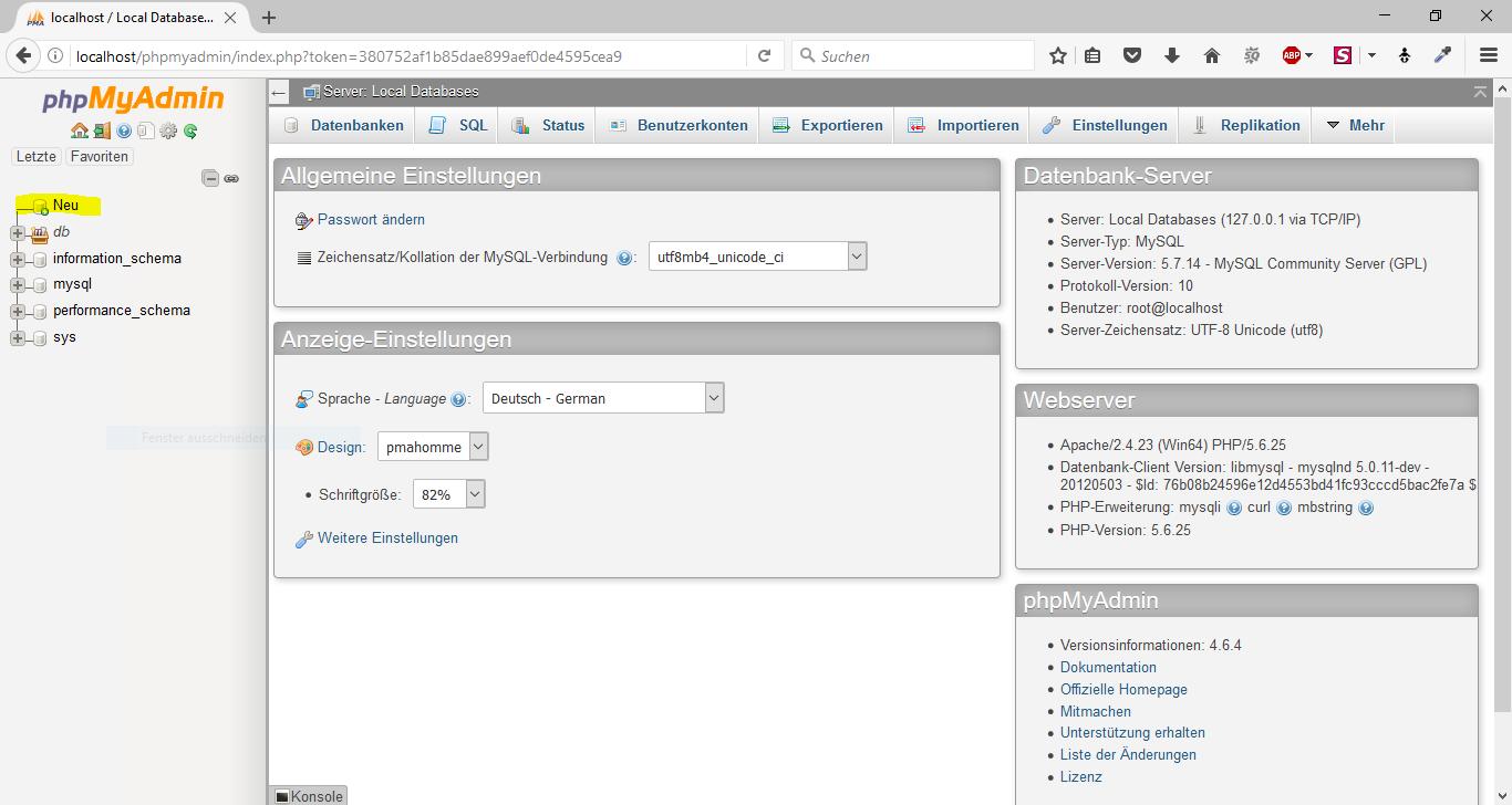 WordPress offline mit WampServer 4