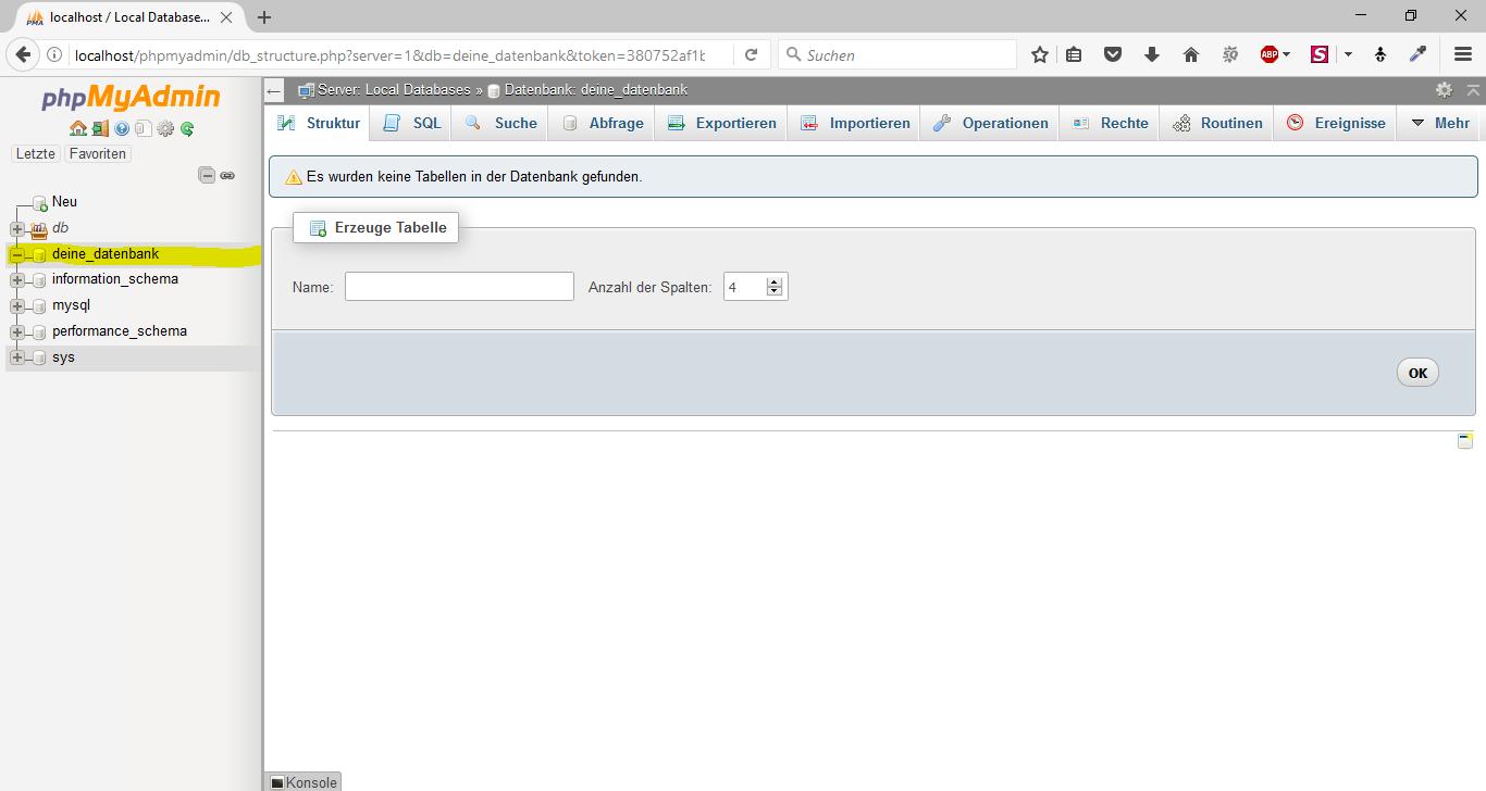 WordPress offline mit WampServer 5