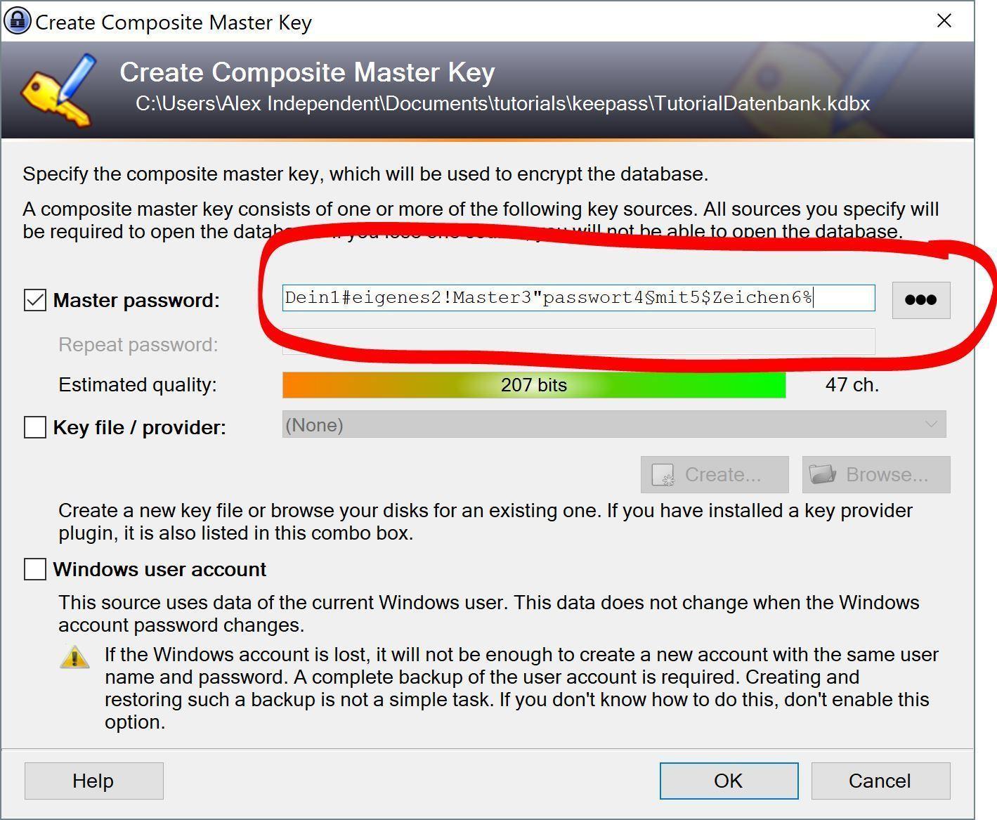 Tutorial: Sichere Passwörter verwalten und erstellen mit dem Passwort Manager Keepass