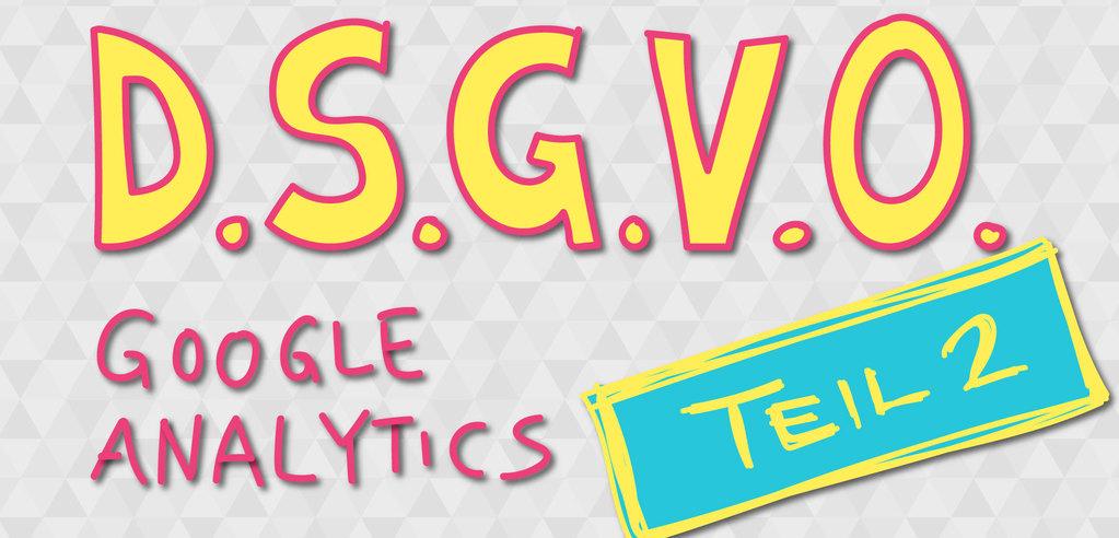 DSGVO - Google Analytics