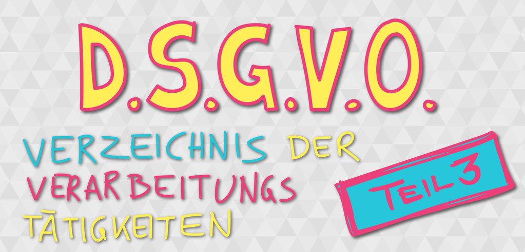 DSGVO - Verfahrensverzeichnis