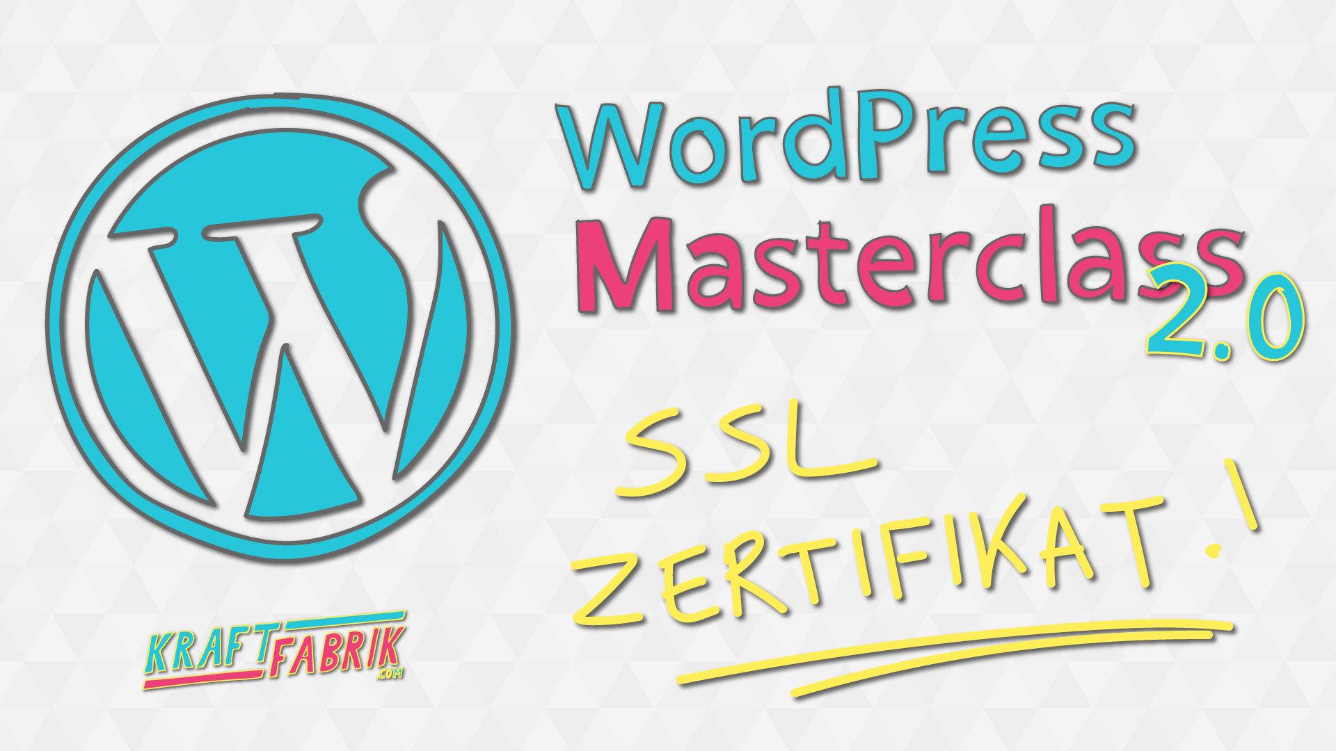 Ssl Zertifikat Installieren Wordpress Masterclass 20 M2 V3