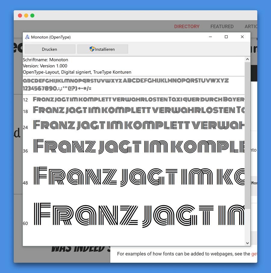 Logo erstellen mit Google Fonts und Illustrator. Font installieren