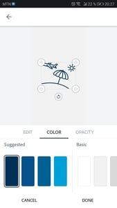 Wunderbare Instagram Highlight Covers - einfach direkt auf deinem Handy machen. 27