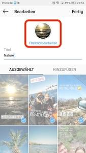 Wunderbare Instagram Highlight Covers - einfach direkt auf deinem Handy machen. 33