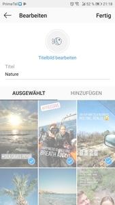 Wunderbare Instagram Highlight Covers - einfach direkt auf deinem Handy machen. 36